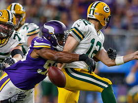 Packers fumble for the 4th time, Vikings finally recover