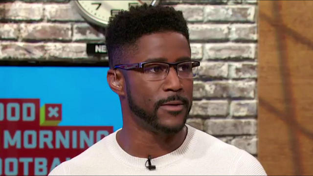 Nate Burleson Takes On Field Passion To Good Morning