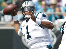 Cam Newton hits Philly Brown with perfect pass for 27 yards