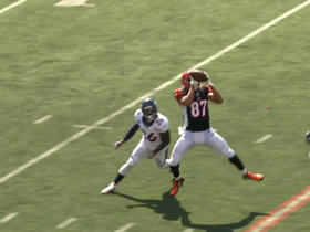 Andy Dalton connects with C.J. Uzomah for 22 yards