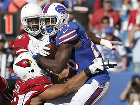LeSean McCoy tackled in end zone for safety