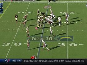 Travis Benjamin fumbles, Charles commit second straight turnover