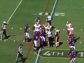 Ravens stop Redskins on 4th & 1