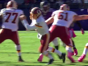 Kirk Cousins misses snap, throws incomplete pass