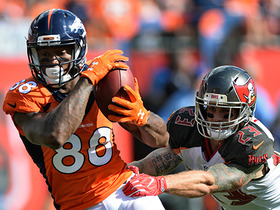 Demaryius Thomas makes impressive catch on tipped ball