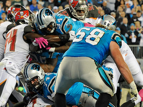 Cameron Artis-Payne jumps for TD on 4th down