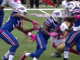 Bills recover 49ers fumble