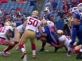 49ers recover Bills fumble