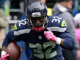 Christine Michael runs 11 yards backward, still gets to line of scrimmage