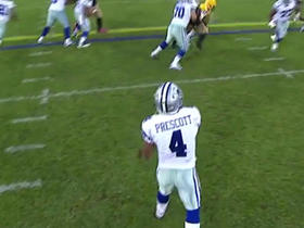 Prescott finds Whitehead for 35 yards on play fake