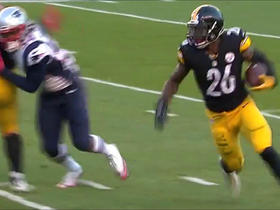 Le'Veon Bell weaves and spins through defenders for a gain of 12