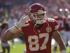 'Sound FX': Travis Kelce's livin' it up against the Saints in Week 7