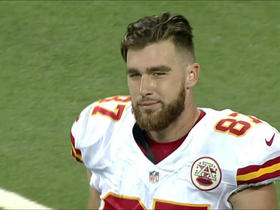 Travis Kelce's 37-yard catch overturned