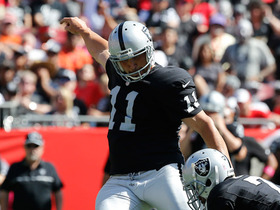 Janikowski misses potential game-winning 50-yard FG