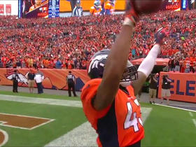 T.J. Ward intercepts Philip Rivers