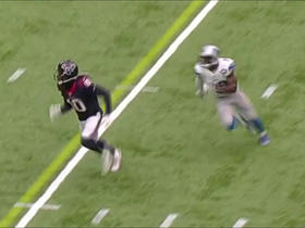 Johnson Bademosi breaks up ball from DeAndre Hopkins