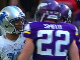 Harrison Smith tracks down Dwayne Washington