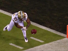 Dropped kickoff pins Saints at their own 1-yard line