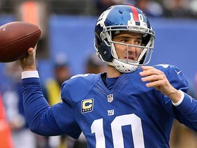 Eli Manning connects with Will Tye for 9-yard TD