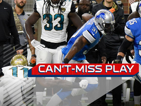 Can't-Miss Play: Rafael Bush with a Lions pick-six