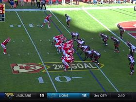 Alex Smith picked off in the end zone by Chris Conte
