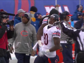 Jay Cutler throws deep pass to Marquess Wilson for 35 yards