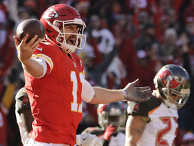 'Sound FX': Alex Smith mic'd up for sliding rushing TD vs. Bucs