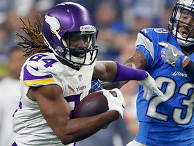 Cordarrelle Patterson shows off speed on 22-yard reverse for Vikings
