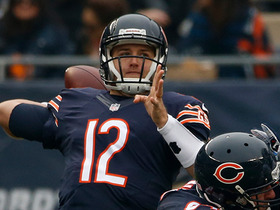 Matt Barkley faces blitz, hits Marquess Wilson for 18 yards