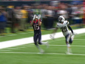 Brock Osweiler finds Will Fuller deep down the sideline for 33 yards