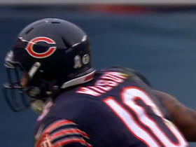 Barkley finds Marquess Wilson for 19 yards