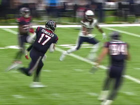 Brock Osweiler scambles for 21 yards on 4th down
