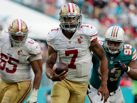 Colin Kaepernick makes history with 49ers