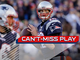 Can't-Miss Play: Brady finds leaping Edelman while getting sacked