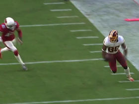 Kirk Cousins connects with Pierre Garcon for 28 yards