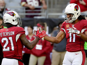 Peterson seals win for Cards, picks off errant Cousins pass