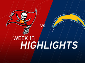 Buccaneers vs. Chargers highlights