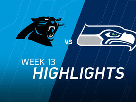 Panthers vs. Seahawks highlights
