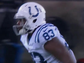 Luck targets and finds Allen for 21 yards