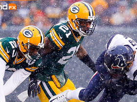 'Sound FX': Clinton-Dix is fired up for a snow game at Lambeau