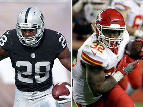 Palmer: Run game could be defining factor in Raiders-Chiefs