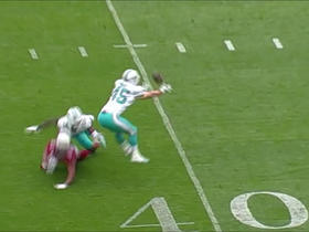Mike Hull capitalizes on tipped pass, picks off Carson Palmer