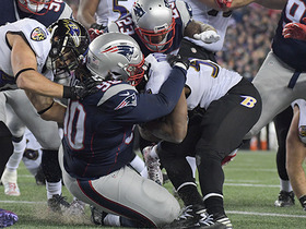 Patriots swarm Ravens in end zone for safety