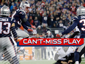 Can't-Miss Play: Shea McClellin soars over line, blocks field goal