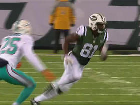 Quincy Enunwa shakes defender, takes off for 27 yards