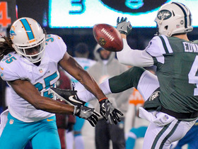Jets punt blocked, Dolphins take it to the house for TD