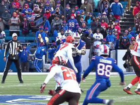 Tyrod Taylor finds Marquise Goodwin for 23 yards