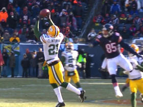Ha Ha Clinton-Dix intercepts Matt Barkley
