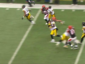 Lawrence Timmons picks off Andy Dalton