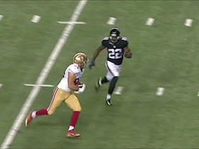 Colin Kaepernick goes deep to Blake Bell for 45 yards